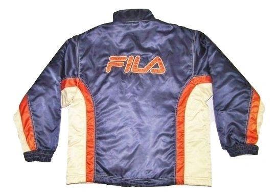 90's vintage fila puffa jacket size large