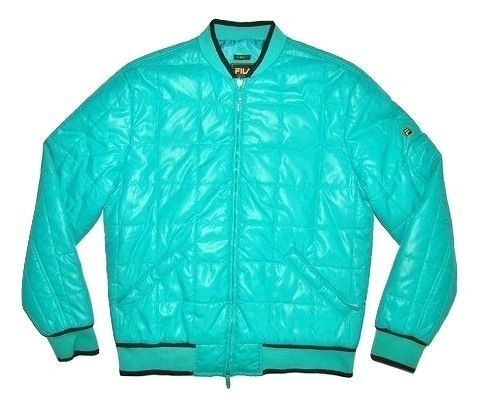 very rare fila gold puffa jacket size M-L