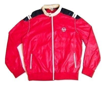 true vintage sergio tacchini bomber jacket size XL