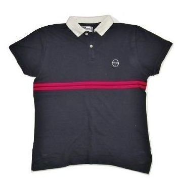 very rare womens sergio tacchini polo shirt size 14-16