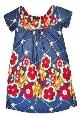 womens retro print flower dress size 10