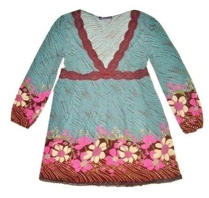 retro flower vintage tea dress size medium