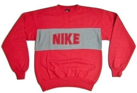 80's true oldskool nike sweatshirt size medium