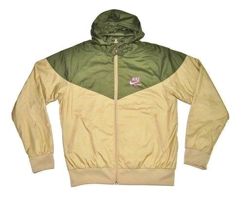 vintage nike windrunner green, size small