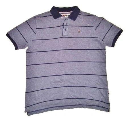 vintage fila polo shirt size M-L