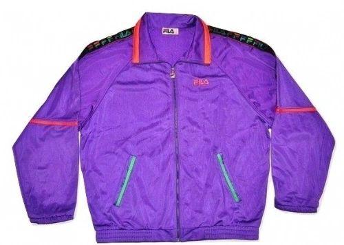 1988 true vintage fila jacket XL-XXL