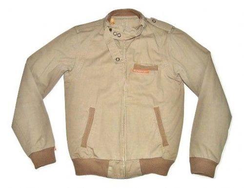 true vintage superdry green bomber jacket size S-M
