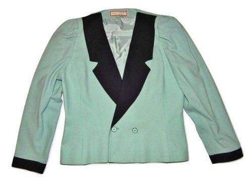 womens true vintage 80's bolero jacket size 14-16