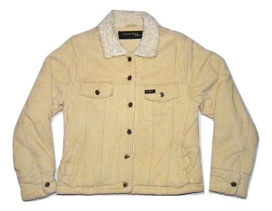 womens true vintage cord shepra jackets size medium