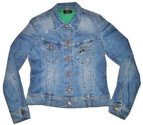 womens true vintage lee denim jacket size L
