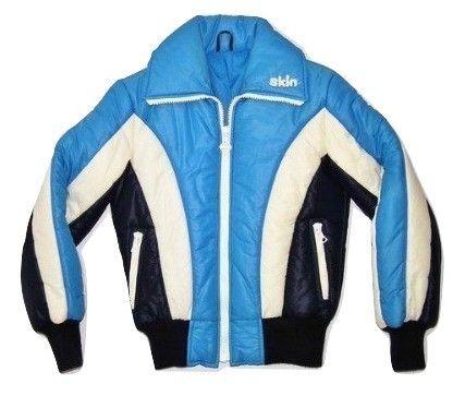 1997 true vintage women's original skin ski jacket UK 8-10