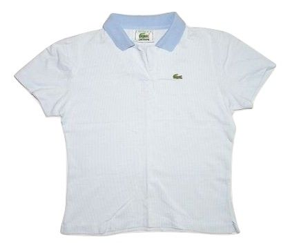 womens vintage lacoste polo tshirt size 8-10