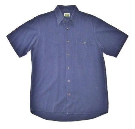 true vintage lacoste short sleeve shirt size S-M