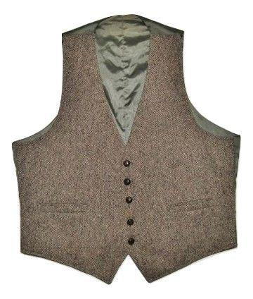 true vintage joe namath waistcoat gillet size L