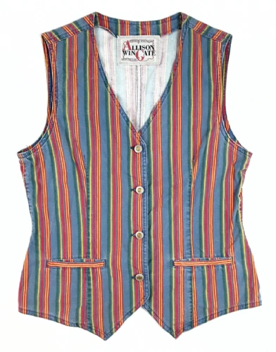 80's true vintage Northern soul waist coat size S-M