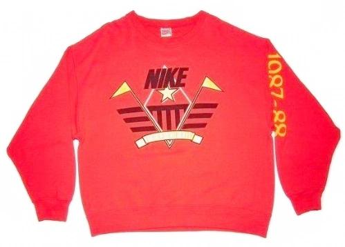 1987 true vintage classic nike sweater size L-XL