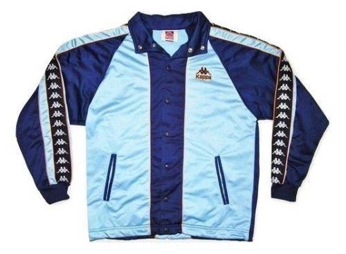 mens classic 90's wavey spellout kappa jacket UK L