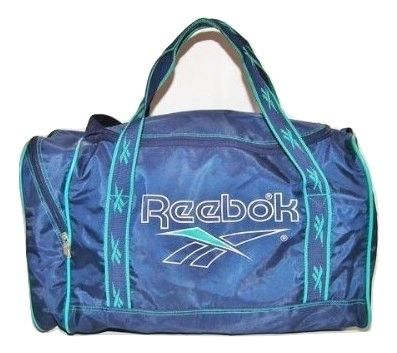 1990's true vintage reebok sports holdall