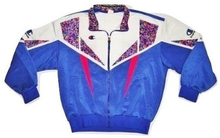 Very rare 1985 womens champion tracksuit top UK M