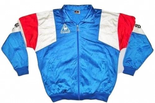 original true vintage le coq sportif tracksuit top size L