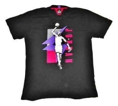 true vintage jordan tshirt size medium