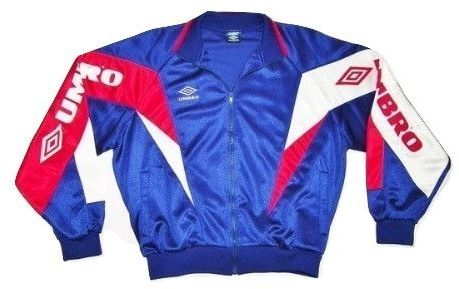 very rare 90's umbro tracksuit top size S-M