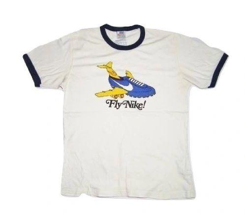 very rare true vintage nike tshirt size medium