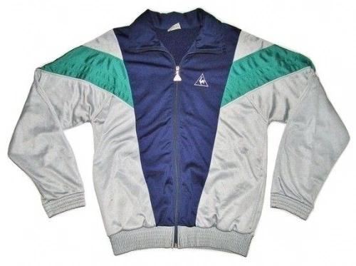 vintage le coq sportif track jacket size S-M