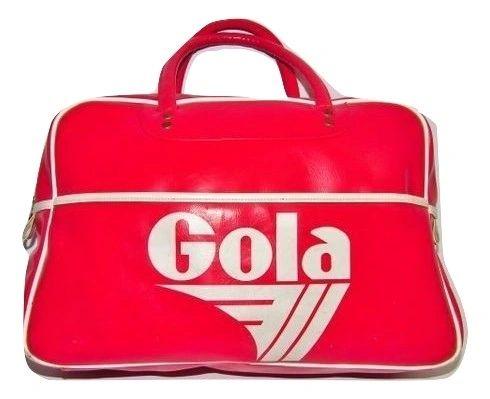 true vintage 90's classic gola sports holdall