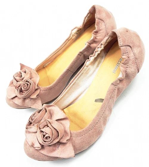 womens retro ruffle top slip on shoes size uk 6