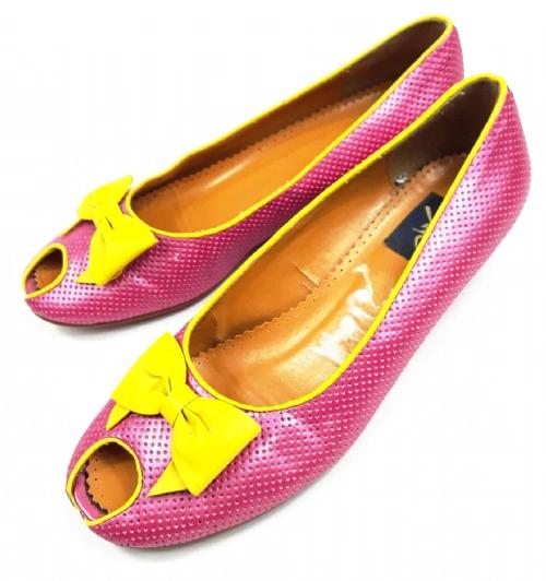 2003 true vintage peeptoe womens shoes uk 6