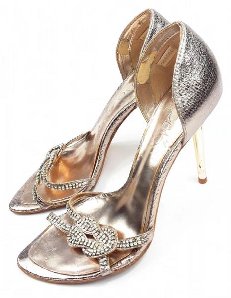 vintage aldo glitter heels size uk 4 quality italian classics