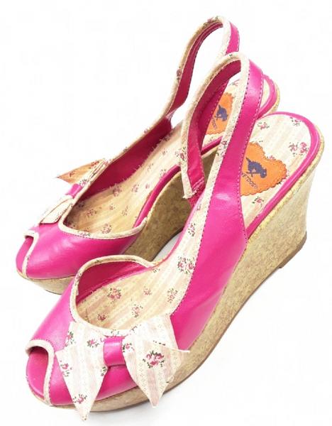 retro rocket dog womens wedge heels size uk6