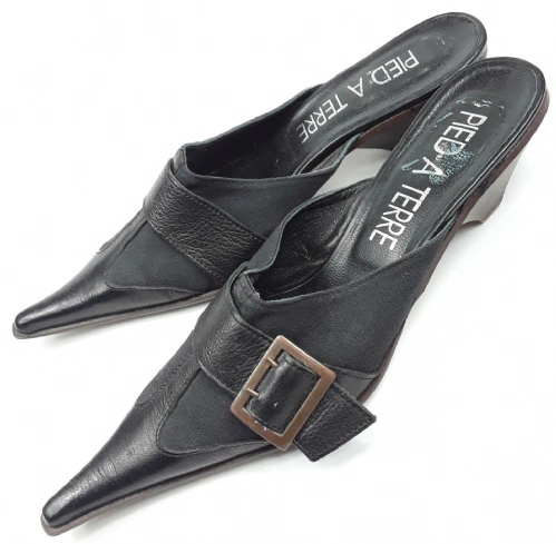 womens original pied vintage mules size uk 7