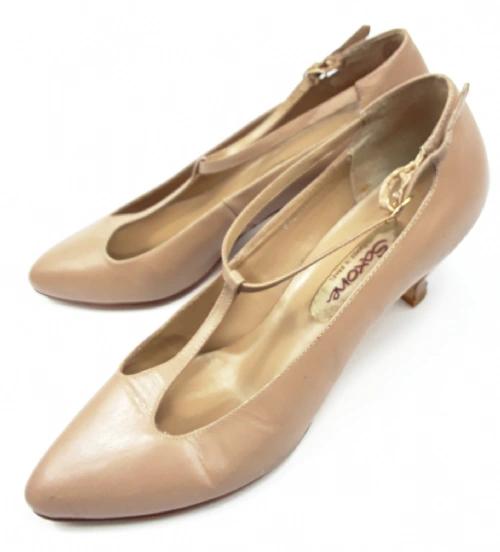 true true vintage high heels tbar womens shoes size uk 4.5