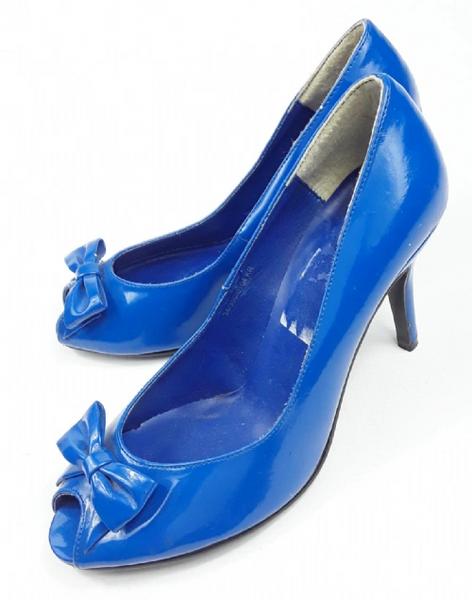 true vintage 1998 peeptoe womens shoes uk 5