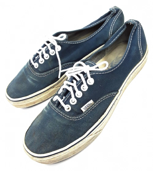 mens oldskool vintage vans blue size 8
