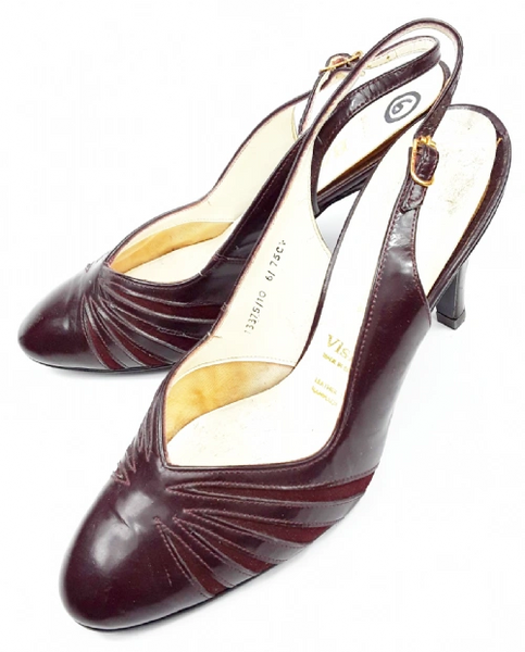1984 true vintage bally high heels size uk 6