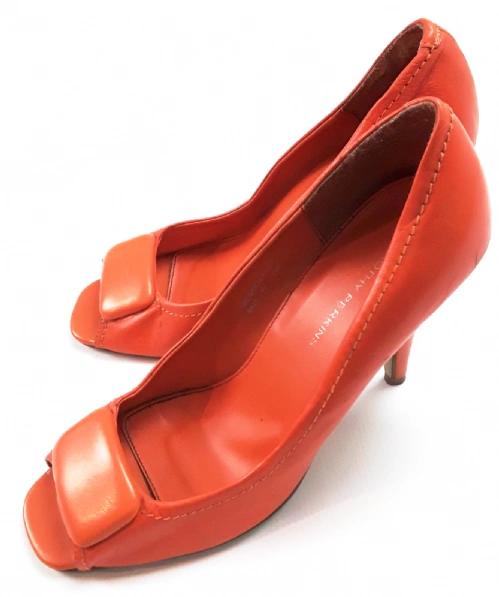 vintage orange heels from 2007 size 7