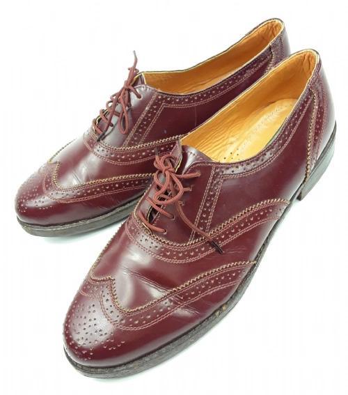 true vintage clifford james leather brouges size 12