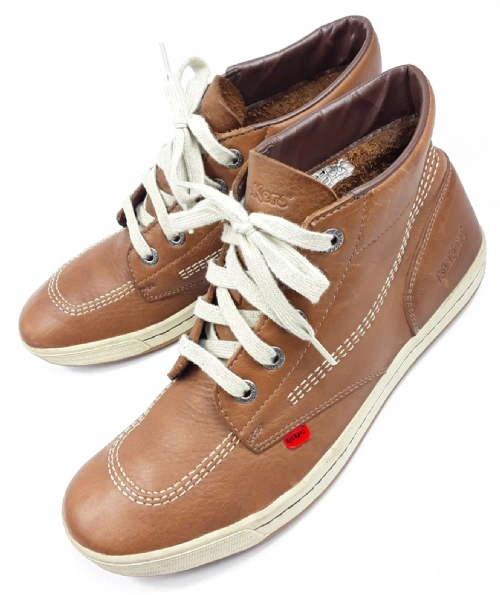 mens 2005 oldskool leather kickers size 10