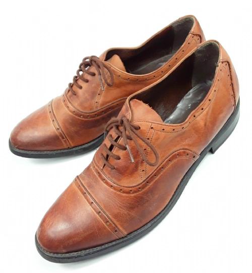 mens true vintage brown leather brouges size uk 13