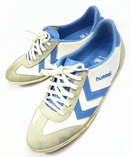 official photos 07450 a2ac1 womens vintage hummel sneakers size uk 3 very rare trainers