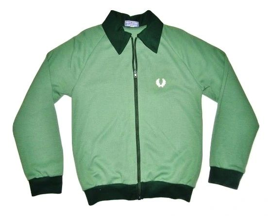 rare vintage fred perry zip up cardigan size small