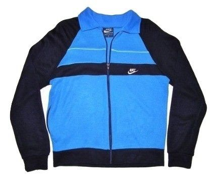 classic 80's nike vintage tracktop, oldskool style size Small