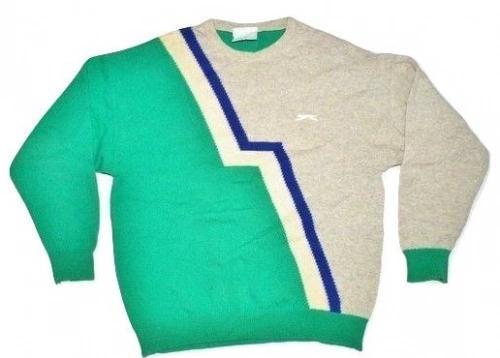 true 80's classic vintage slazenger jumper