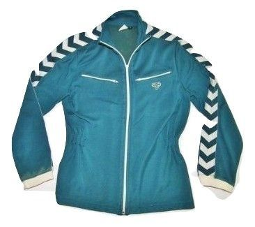 true vintage hummel tracksuit womens size S early 90's