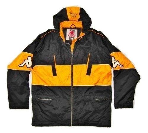 true vintage oldskool kappa jacket size uk medium late 90's