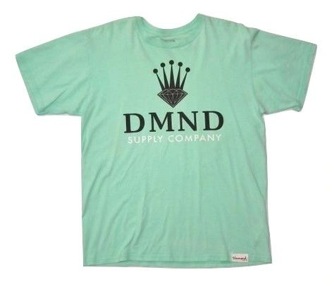 mens classic retro style diamond company tshirt size uk large