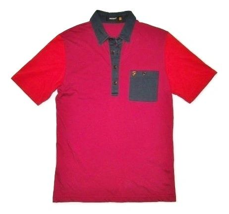 farah vintage mens polo tshirt size uk small